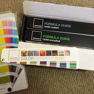 Pantone Swatch Book X 2 Formula Guides
