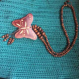 Ethnique Butterfly Necklace