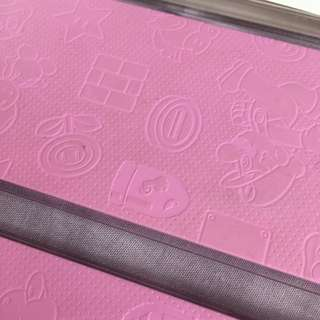 New N3DS Face Plate Pink Mario