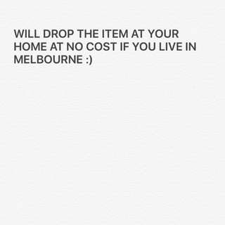 Free Delivery In Melbourne