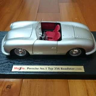模型保時捷NO.1 TYP。356敞篷跑車(1948年