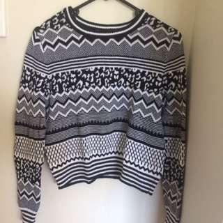 Wool Pullover - Crop