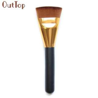 Professional Cosmetic Flat Contour Brush Face Blend Foudation