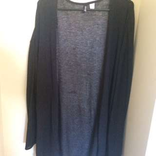 Black Thin Cardigan