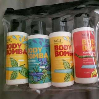 Belif Body Bomba Body Lotion And Skin Conditioner