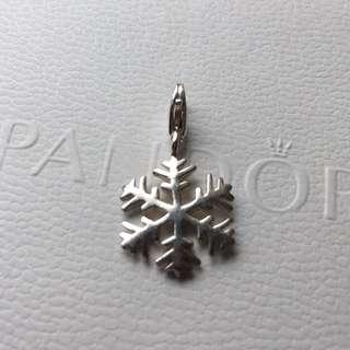Thomas Sabo Silver Snow Flake Charm