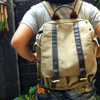 Zapatos Backpack Brown