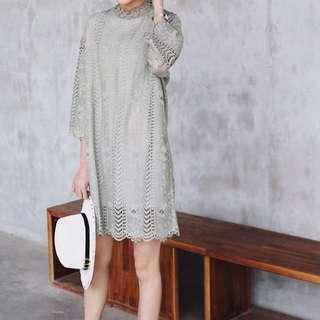 轉賣 Kimore 韓國完美蕾絲連身洋裝
