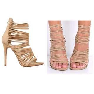 Lipstick Heels - Size 7
