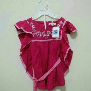 Dress Anak Pumpkin Patch Original