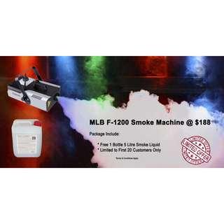 F-1200 Smoke machine