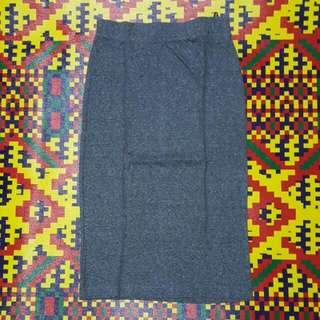 Divided By H&M Grey Basic skirt