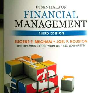 AB1201/BU8201 Essentials of Financial Management 3rd Ed