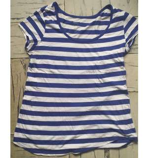 MNG Stripped blouse