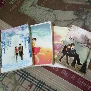 Novel 1 Set (isi 4 )