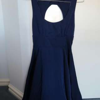 Dress (Royal Blue Colored)