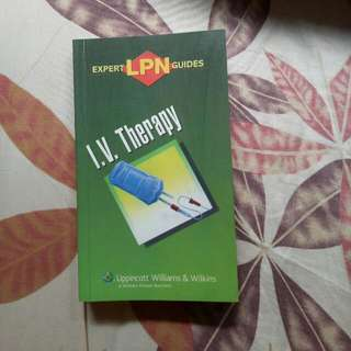 Nursing book (IV Therapy)