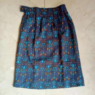 Aztec Print Pencil Skirt #skirtsbelow300