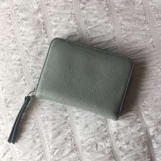 FOSSIL SMALL BLUE WALLET
