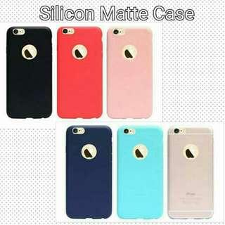 Silicon matte cases