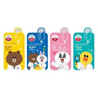 [!INSTOCK!] MEDIHEAL LINE FRIENDS MASKS!