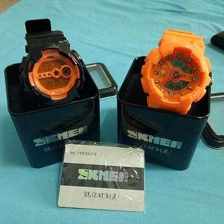【二手出清】 SKMEI 大錶盤潮流電子錶 (可分售單支200)