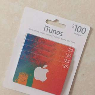 US25 美金 美國iTunes 點數卡