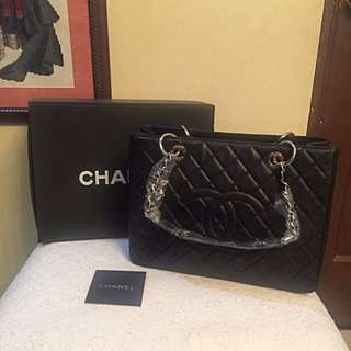 Chanel GST With Silver Hardware