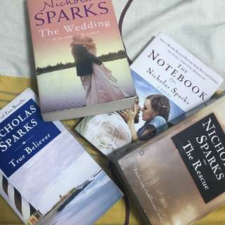 Nicholas Sparks's BOOKS