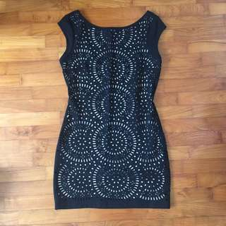 Zara Bodycon Dress Stretch XS - S