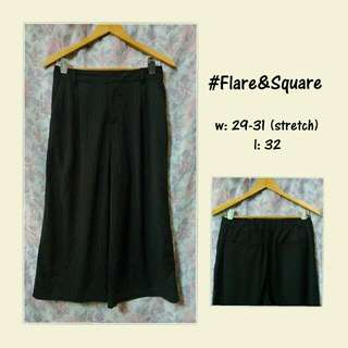 CLEARANCE SALE: Flare & Square Pants/Slacks
