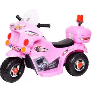Rechargeable Motor Bike (Pink)