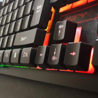 🆒 PSFY K-13 RGB Spectrum Gaming Keyboard