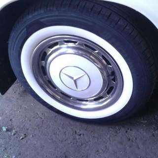 White Wall Tyre