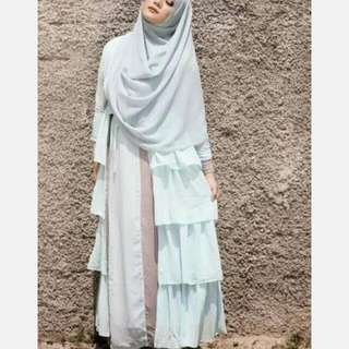 Outer Warna Aqua Blue Design By Suci Utami