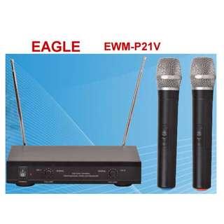 EAGLE~ VHF 無線麥克風EWM-P21V (另有EWM-R96 UHF)運費另計Freight separately