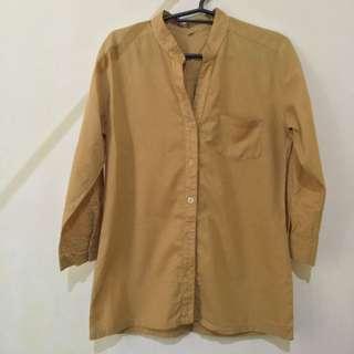 Yellow 3/4 Sleeves