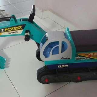 Excavator With Seat/ Ride On Excavator