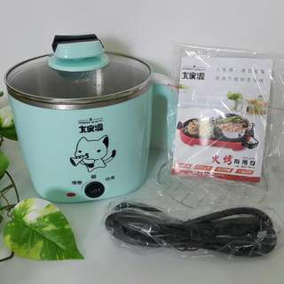 【黑皮GO】大家源蒸煮燉鍋/含304不鏽鋼蒸籠/插電煮鍋