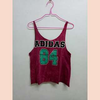 Adidas Sleeveless Croptop