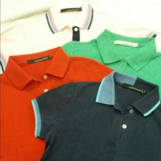 BUNDLE OF 4 Collezione C2 Polo Shirts