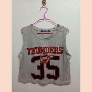 Ballow Thunders Crop Top