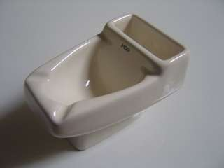 和成 迷你小馬桶 陶瓷馬桶煙灰缸~