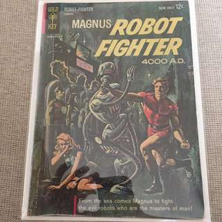 Magnus Robot Fighter #1 (Gold Key) VG Condition (1st App. Of Magnus Robot Fighter)