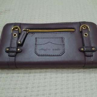 Ange-aile Purple Wallet