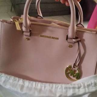 MK pink authentic hand bag