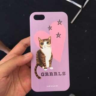 Ip5/5s/se Cat Case