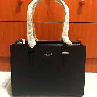 New And Aunthetic BNWT Kate Spade Small Jensen Tote In Black