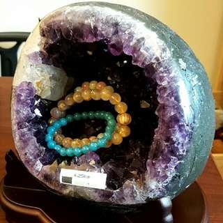 烏拉圭紫晶洞