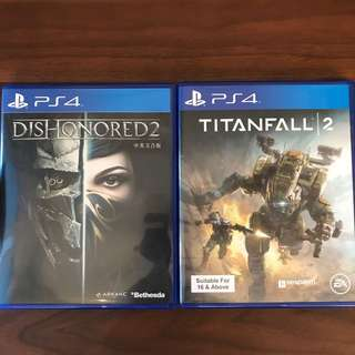 Dishonored 2 / Titanfall 2 (PS4)